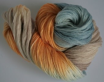 Hand Dyed Yarn 'After The Rain' - Hand dyed Wool Yarn 4 ply