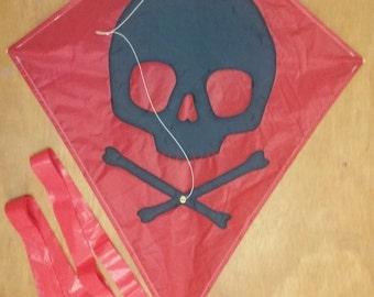 Red Jolly Roger Kite