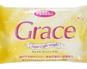 SALE Grace SUPER light weight clay 160 gram (air dry clay, for making fake sweet and flower)