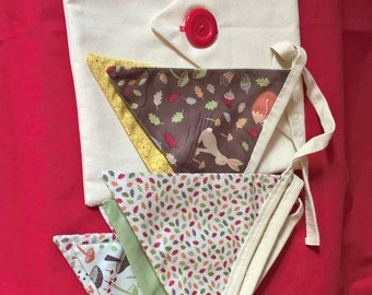 Bunting With it's own Storage Pouch