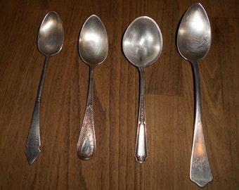 8 mix match vintage sterling silverware
