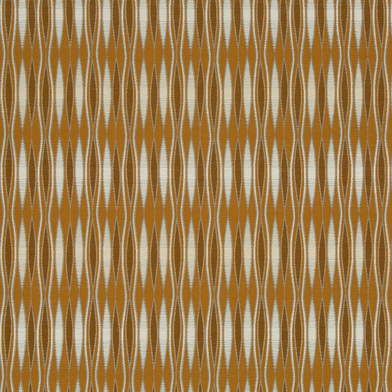 Copper Brown Upholstery Fabric for Furniture Modern Orange