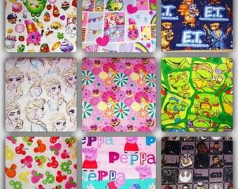 reusable sandwich & snack bags~ you pick~ sandwich bag~, snack bags~reusable goods~eco friendly~sandwich bag~pawpatrol~shopkins