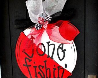 Gone Fishing, Gone Fishing Sign, Lake House Decor, Lake House Sign, Lake Decor
