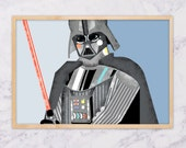 Darth Vader - print A3 size
