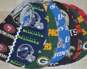House Divided Choose your Teams NFL Football Baby Bibs or Football Rivals Baby Bib