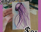 Water Color Painting- Jellyfish- Watercolor Jellyfish