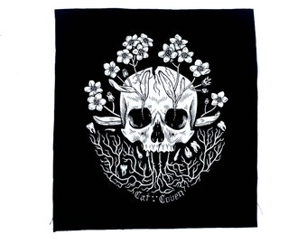 Forget-Me-Not Back Patch