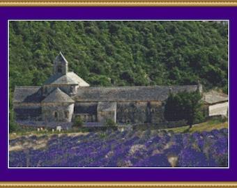 Lavender Fields Cross Stitch Pattern