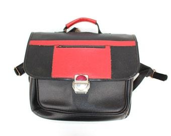 Soviet vintage school bag knapsack  backpack rucksack satchel kids bag bags