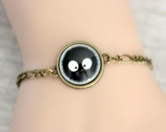 bracelet soot ball totoro (1616B)