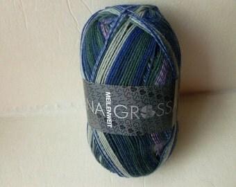 Sale 20% off Blue and Grey 3212 Meilenweit  Bali by Lana Grossa Yarns