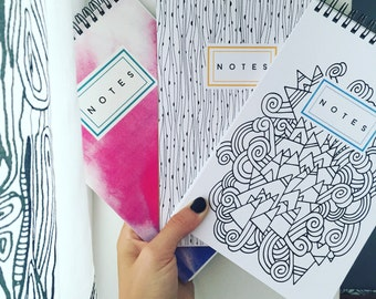 Notebook (5.5x8.5) with lined pages