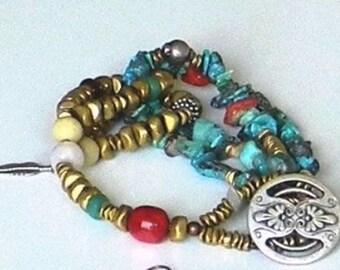 Multicultural Tribal Bracelet