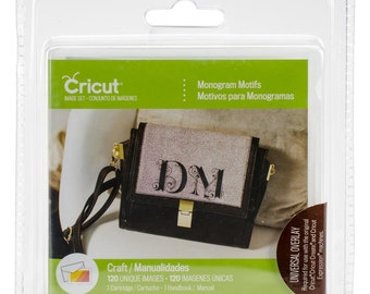 MONOGRAM MOTIFs CRICUT Cartridge - Brand New For ALL Cricut Machines !