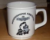 Free shipping! Moonshine Festival 25th Anniversary Homer Laughlin mug