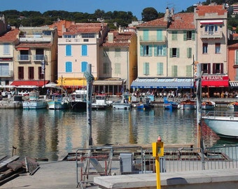 France Photography - Travel - Cassis, France - Harbor - Port - Fine Art Photograph Print - Home Decor