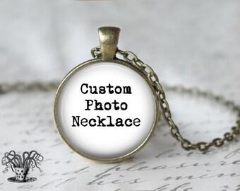 Custom Necklace - Personalized Necklace - Monogram Jewelry - Custom Pendant - Customizable Necklace - Customizable Jewelry - Quote Necklace