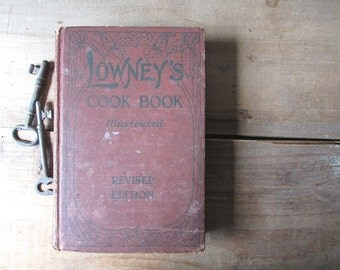 Lowney's Vintage Cookbook 1912