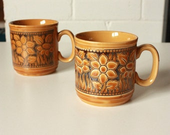 1970's Coffee Mugs by Churchill England