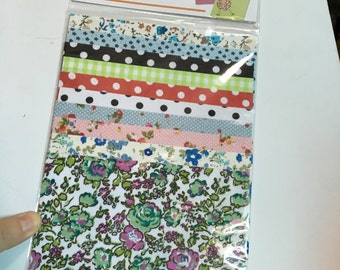 A Pack of 10 pieces Adhesive Fabric