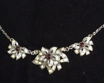 Hollywood Flower Necklace/Choker