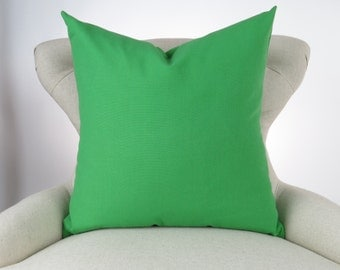 Kelly green pillows Etsy