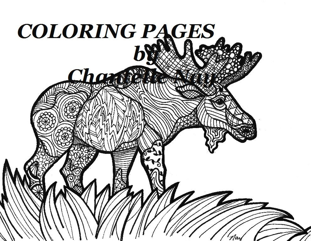 zoom - Advanced Coloring Pages Animals