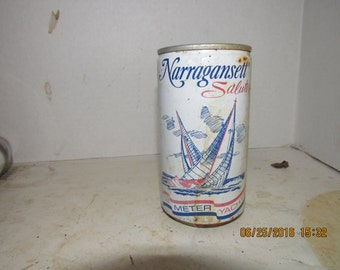 1970's Narragansett Lager Beer RI 12 oz beer can