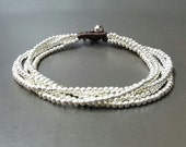 5 Chain Silver  Anklet