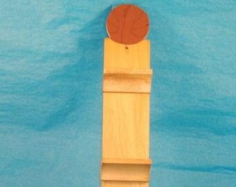 Basketball Theme Mini Display Shelf, Sports, 3 Shelf Unit - 10 x 2 Inches - DeStash