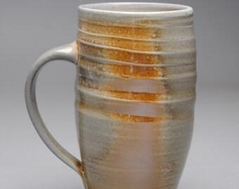 Clay Coffee Mug Beer Stein Wood  Fired E60