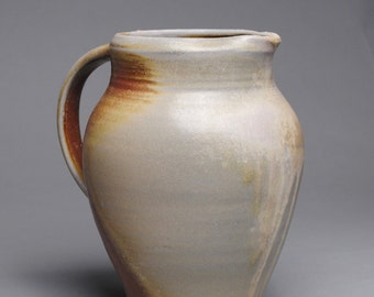 Clay Pitcher Wood Fired E85
