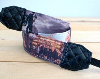Custom camera strap by LunaViz for DSLR and Mirrorless