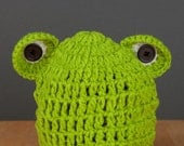 Infant/Newborn/Baby Frog Hat