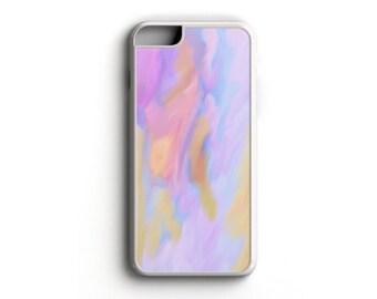 Watercolor - Pink-Blue-Purple-Orange - iPhone 5/5s, iPhone 6/6s, iPhone 6/6s Plus, Samsung S5, Samsung S6 Cell Phone Case