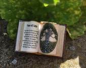 Tree of Life Open Book - Dollhouse Miniatures