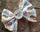 "Girl Scout ""It's Cookie time"" hair bow"