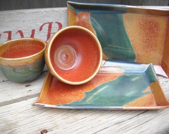 Plate, Bowl set, Soup and Salad plate, Rectangle Plate