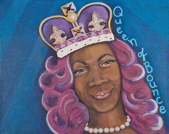 Big Freedia, the Queen of Bounce Art Print