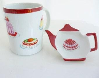 """good cakes"" porcelain mug"
