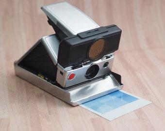 Polaroid SX70 Aluminum Skin