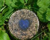 B4 Energy Art Lapis Lazuli Heart Orgone Chi Ki Prana life force energy Large Tower Bomb! Powerful EMF protection 24/7!