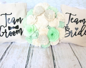 Team Bride Team Groom Wedding Party Gift Bags perfect way to say thank you to your wedding party