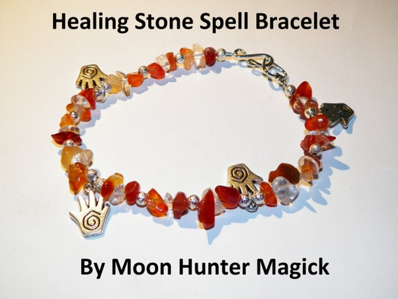 Stone Magick Healing Bracelet 20+ years experience Crystal Healing Charm