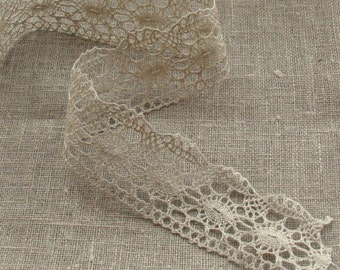 Linen Lace Natural gray