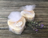 Unique Bridal Shower Favors, Heart Soap Wedding Favors, Bachelorette Party Favors, Lavender Milk Soap Favors 10