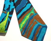 Kanaka Hawaiian Necktie Vintage