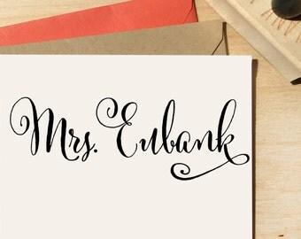 Teacher Name Stamp, Teacher Gift