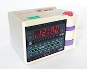 80s General Electric P'Jammer Clock AM/FM Radio